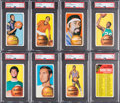 Basketball Cards:Lots, 1970 Topps Basketball Vending Hoard (1280+). ...