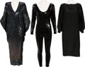Music Memorabilia:Costumes, A Connie Francis Group of Professional and Personal Clothing, 1990s.... (Total: 3 Items)