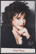 Music Memorabilia:Posters, A Connie Francis Group of Signed Posters, Circa 2000s.... (Total: 3Items)