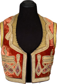 Jimi Hendrix Owned and Worn Gypsy-Style Vest (Circa 1967-70)