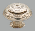 American Indian Art:Jewelry and Silverwork, A Navajo Lidded Urn . Leonard M. Nez...