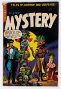 Golden Age (1938-1955):Horror, Mister Mystery #17 (Aragon, 1954) Condition: VG+....