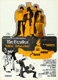 "Movie Posters:Animation, Yellow Submarine (United Artists, 1969). Spanish Poster (14.5"" X20"").. ..."