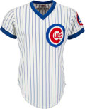 Baseball Collectibles:Uniforms, 1981 Steve Henderson Game Worn Chicago Cubs Jersey. ...
