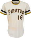 Baseball Collectibles:Uniforms, 1974 Al Oliver Game Worn Pittsburgh Pirates Jersey....