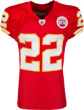 Football Collectibles:Uniforms, 2010 Dexter McCluster Game Worn, Unwashed Kansas City Chiefs Jersey. ...