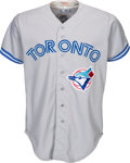 Baseball Collectibles:Uniforms, 1993 Carlos Delgado Game Worn Toronto Blue Jays Jersey - First Jersey. ...