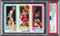Basketball Cards:Singles (1980-Now), 1980 Topps Larry Bird/Erving/Magic Johnson PSA Gem Mint 10! ...