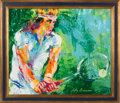 Miscellaneous Collectibles:General, 1981 Björn Borg Original Painting by LeRoy Neiman....