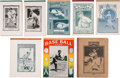Baseball Collectibles:Publications, 1910-35 Baseball Stars Notebook Lot of 8.... (Total: 8 item)