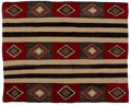 American Indian Art:Weavings, A Navajo Third Phase Variant Chief's Style Blanket. Teec Nos Pos...