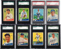 Baseball Cards:Sets, 1934 Goudey Partial Set (36/96) With Both Gehrig Cards. ...