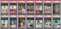 Baseball Cards:Sets, 1971 Topps Baseball High Grade Complete Set (752) With 220 PSA Graded Cards. ...