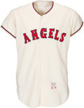 Baseball Collectibles:Uniforms, 1965 Ron Piche/Charlie Dees/Jack Sanford Game Worn California Angels Jersey. ...