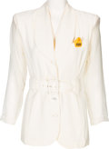 Olympic Collectibles:Autographs, 1994 Olga Korbut Worn Blouse for Sports Illustrated Forty for theAges Banquet. ...