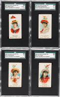 "Non-Sport Cards:Sets, 1889 N91 Duke & Sons ""Yacht Colors of the World"" Collection(41). ..."