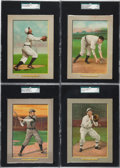Baseball Cards:Lots, 1910-11 T3 Turkey Red SGC 55 VG/EX+ 4.5 Group (4)....