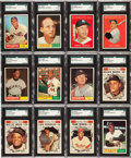 Baseball Cards:Lots, 1961 Topps Baseball Shoe Box Collection (850+) with 556-Card NearSet Plus Many Extras. ...