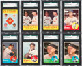 Baseball Cards:Lots, 1963 Topps Baseball Collection (700+) With Many Stars & HoFers....