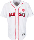 Baseball Collectibles:Uniforms, 2016 David Ortiz Game Worn Unwashed Boston Red Sox Jersey from #527Home Run Game MLB Authentic with Special Rod Carew Heart P...