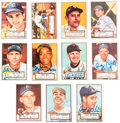 Autographs:Sports Cards, Signed 1982 (1952) Topps 30th Anniversary Baseball Card Collection (51 Different). ...