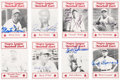 "Autographs:Sports Cards, Signed 1984 Decathlon ""Negro League Baseball Stars"" Collection (36 Different). ..."