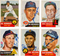Autographs:Sports Cards, Signed 1953 Topps Baseball Card Collection (20). ...