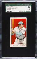 "Baseball Cards:Singles (Pre-1930), 1910 E102 ""Set of 25"" Honus Wagner (Batting) SGC 60 EX 5. ..."