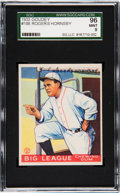 Baseball Cards:Singles (1930-1939), 1933 Goudey Rogers Hornsby #188 SGC 96 Mint 9 - Pop One, NoneHigher! ...