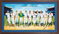 Baseball Collectibles:Others, 500 Home Run Club Ron Lewis Signed Lithograph (11 Signatures). ...
