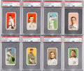 Baseball Cards:Lots, 1909-11 T206 Piedmont PSA-Graded Collection (15). ...