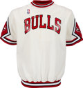 Basketball Collectibles:Uniforms, 1988 Will Purdue Game Worn Chicago Bulls Shooting Shirt....