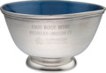 Football Collectibles:Others, 1965 Rose Bowl Metal Presentation Bowl....