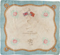Boxing Collectibles:Memorabilia, 1880's Jem Smith Rare Boxing Silk....