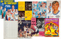 Basketball Collectibles:Programs, 1969-75 ABA Finals Programs Lot of 8.... (Total: 8 item)