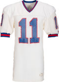 Football Collectibles:Uniforms, 1983-84 Phil Simms Game Worn New York Giants Jersey....