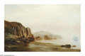American:Marine, WILLIAM BRADFORD (American 1823-1892). Low Tide, Labrador 1870. Oil on canvas. 25in. x 40.5in.. Signed and dated lower r...