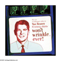 Post-War & Contemporary:Pop, ANDY WARHOL (American 1928-1987). Ads: Van Heusen (Ronald Reagan), 1985. Screenprint on Lenox Museum Board. 36in. x 36in...