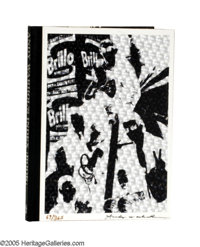 ANDY WARHOL (American 1928-1987) Andy Warhol's Index, 1967 Signed pop up book 11.25in. x 8.75in. Signed lower right&...