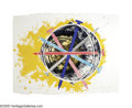 Post-War & Contemporary:Pop, JAMES ROSENQUIST (B. 1933). Echo Pale (from Mirrors of theMind), 1975. Lithogrpah on paper. 23.5in. x 31.5in.. Signedl...