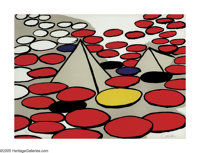 ALEXANDER CALDER (American 1898-1976) Untitled Colored lithograph 20.5in.x 28.5in. Signed lower right Edition: 16/1