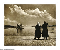 ELEANOR PARKE CUSTIS (American 1897-1983) They That Wait, 1935 Vintage bromide print 12.5in. x 16in. Titled and