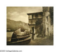 Photographs, ELEANOR PARKE CUSTIS (American 1897-1983) . Fishermen's Isle, 1935 . Vintage bromide print . 13in. x15.5in. . With the p...