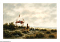 American:Western, HEINIE HARTWIG (American b. 1937). Cheyenne Burial. Oil onmasonite. 20in.x 30in.. Signed lower left. ...
