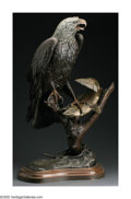 Bronze:Western, WILLIAM HALD (American b. 1948). American Fisherman, 1982. Bronze. 33in. tall. Signed lower left. Edition: 18/36. ...