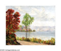Texas:Early Texas Art - Impressionists, IRA MCDADE (American 1873-1951). Lakeside View. Oil oncanvas. 24in.x 30in.. Signed lower right. ...