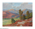 American:Impressionism, JOHN MODESITT (American b.1955). Mountain Landscape. Oil oncanvas. 24in. x 30in.. Signed lower right. ...