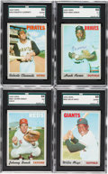 Baseball Cards:Sets, 1970 Topps Baseball Near Set (708/720). ...