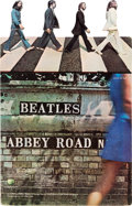 Music Memorabilia:Memorabilia, Beatles Abbey Road Promotional Standee (US, 1969)....