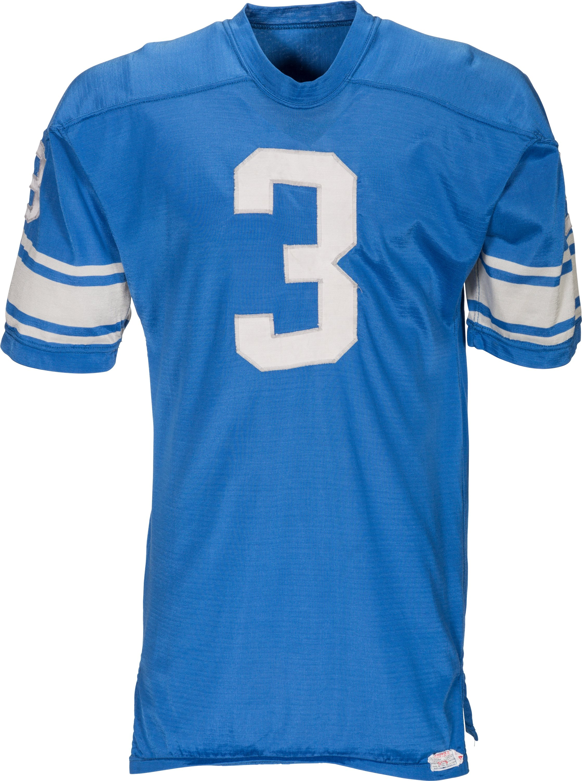 best service 0595f 9b511 1968 Billy Gambrell Game Worn Detroit Lions Jersey.... Football   Lot  #45198   Heritage Auctions